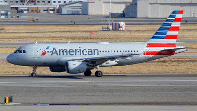 A picture of N769US - Airbus A319112 - American Airlines - © Justin Lawrence