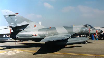 51 - Dassault Super Étendard - France - Navy