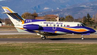 RA-02771 - British Aerospace BAe 125-700B - Weltall-Avia