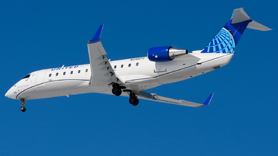 A picture of N246PS - Mitsubishi CRJ200ER - United Airlines - © Kevin Cargo