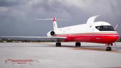 XA-UZV - McDonnell Douglas MD-83(SF) - Aeronaves TSM