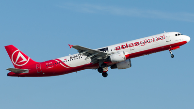 A picture of TCATF - Airbus A321211 - AtlasGlobal - © Alp AKBOSTANCI