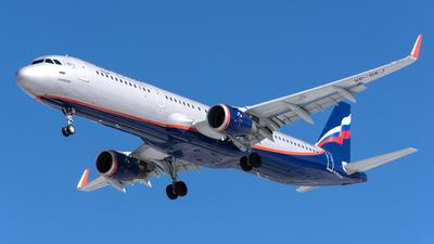 A picture of VPBKJ - Airbus A321211 - Aeroflot - © Aleksandr Alekhichev