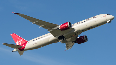 G-VOOH - Boeing 787-9 Dreamliner - Virgin Atlantic Airways