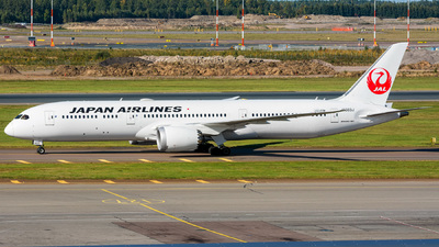 JA863J - Boeing 787-9 Dreamliner - Japan Airlines (JAL)