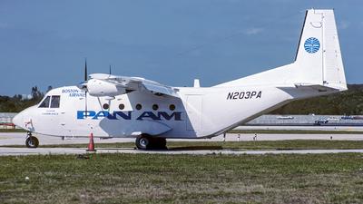 N203PA - CASA C-212-200 Aviocar - Pan Am Clipper Connection (Boston-Maine Airways)