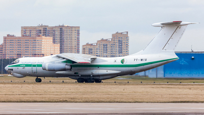 7T-WIV - Ilyushin IL-76TD - Algeria - Air Force