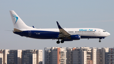 YR-BMB - Boeing 737-85R - Blue Air