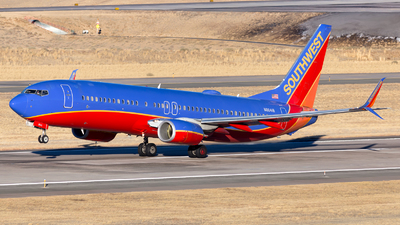 A picture of N8641B - Boeing 7378H4 - Southwest Airlines - © HA-KLS