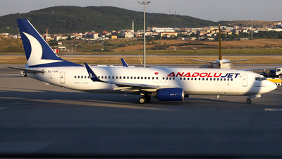 TC-SAI - Boeing 737-8AS - AnadoluJet