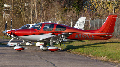 N892DE - Cirrus SR22T-GTS - Private