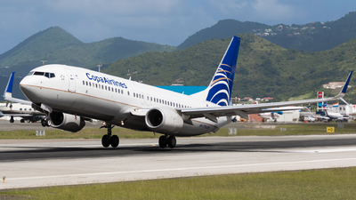 A picture of HP1719CMP - Boeing 7378V3 - Copa Airlines - © Martin Rogosz