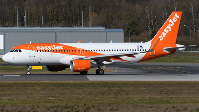 A picture of OEINF - Airbus A320214 - easyJet - © Chris Jilli