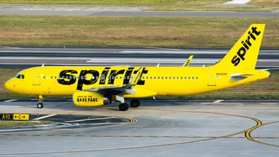N646NK - Airbus A320-232 - Spirit Airlines
