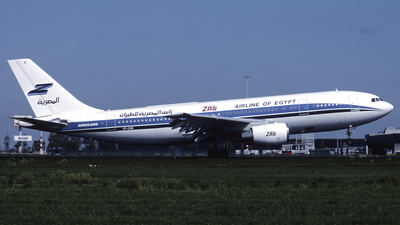 OY-CNK - Airbus A300B4-120 - ZAS Airline of Egypt