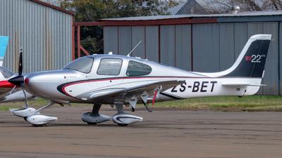ZS-BET - Cirrus SR22-GTS - Private