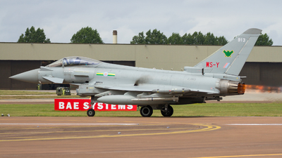 ZJ913 - Eurofighter Typhoon FGR.4 - United Kingdom - Royal Air Force (RAF)