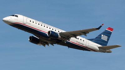 N117HQ - Embraer 170-200LR - US Airways Express (Republic Airlines)