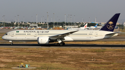 A picture of HZARG - Boeing 7879 Dreamliner - Saudia - © Danny-Long