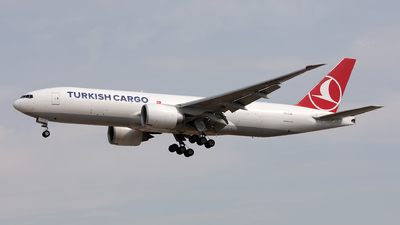 TC-LJO - Boeing 777-FF2 - Turkish Airlines Cargo