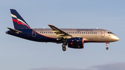 A picture of RA89060 - Sukhoi Superjet 10095B - Aeroflot - © Aleksandr Alekhichev