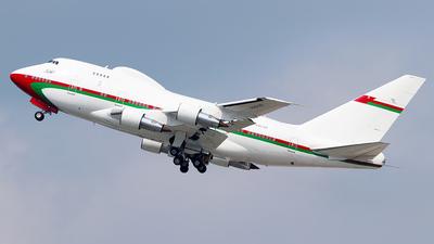 A4O-SO - Boeing 747SP-27 - Oman - Royal Flight