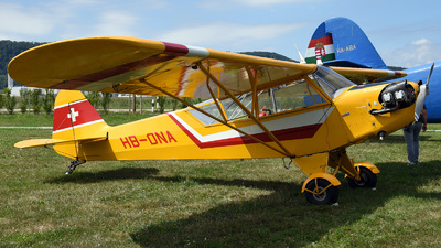 HB-ONA - Piper J-3C-65 Cub - Motorfluggruppe Pilatus