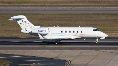 N223TV - Bombardier BD-100-1A10 Challenger 300 - Private