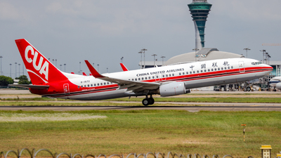 B-1572 - Boeing 737-89P - China United Airlines