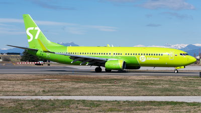 A picture of VPBQD - Boeing 73783N - S7 Airlines - © Varani Ennio