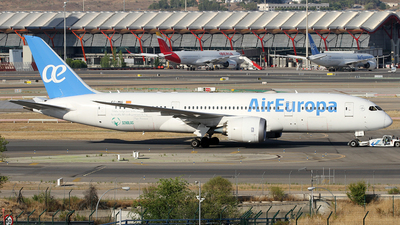 A picture of ECMIG - Boeing 7878 Dreamliner - Air Europa - © Alfonso Solis