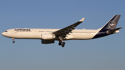 A picture of DAIKP - Airbus A330343 - Lufthansa - © Robin Frosch