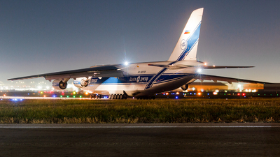 A picture of RA82078 - Antonov An124 - VolgaDnepr Airlines - © Leige Yang