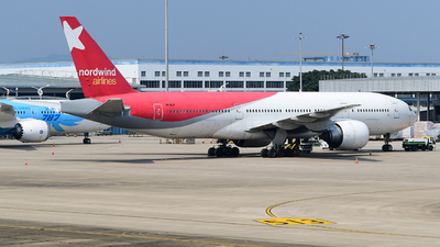 A picture of VPBJF - Boeing 77721B(ER) - Nordwind Airlines - © songxiuming