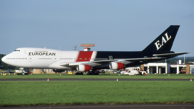 G-BDXE - Boeing 747-236B - European Aviation (EAL)