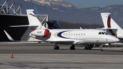 N118T - Dassault Falcon 2000EX - Private