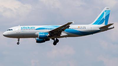 EC-ICU - Airbus A320-211 - Clickair