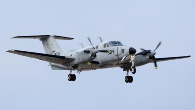 504 - Beechcraft B200 Zufit 1 - Israel - Air Force