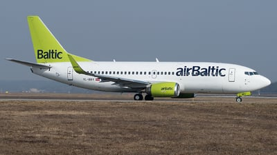 A picture of YLBBY - Boeing 73736Q - Air Baltic - © Gianluca Mantellini