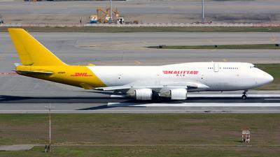 N743CK - Boeing 747-446(BCF) - Kalitta Air