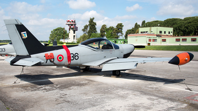 MM55127 - SIAI-Marchetti SF260EA - Italy - Air Force