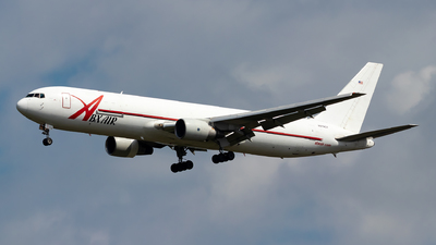 A picture of N219CY - Boeing 767383(ER)(BDSF) - ABX Air - © Julian Azeroth