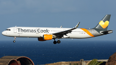 G-TCDK - Airbus A321-211 - 6548