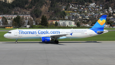 G-DHJH - Airbus A321-211 - Thomas Cook Airlines