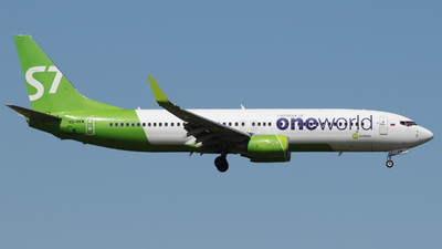 A picture of VQBKW - Boeing 7378ZS - S7 Airlines - © Andrei Kurach