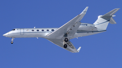 N550PM - Gulfstream G550 - Private