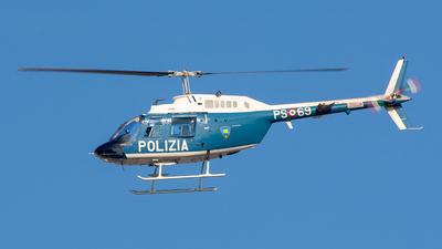 PS-69 - Agusta-Bell AB-206B JetRanger III - Italy - Polizia di Stato