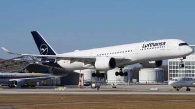 A picture of DAIXK - Airbus A350941 - Lufthansa - © Lars Kämena