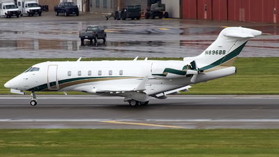 N896BB - Bombardier BD-100-1A10 Challenger 300 - Private