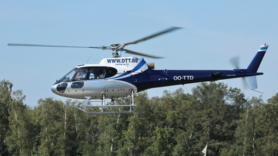 OO-TTD - Aérospatiale AS 350BA Ecureuil - Private